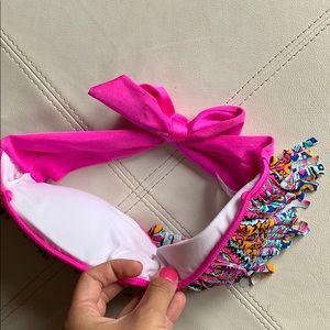 Raisins Swim - Fringe Bandeau Bikini Top